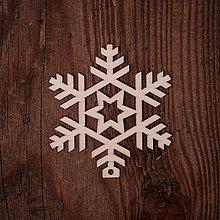 Dekorácie - Vianočná vločka 11 - 7371595_