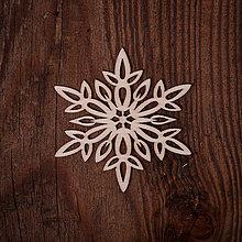 Dekorácie - Vianočná vločka 12 - 7371599_