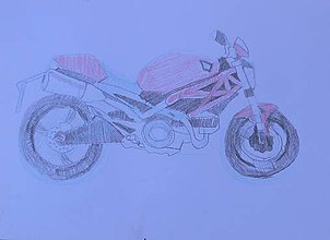 Obrazy - Ducati monster - 7368498_