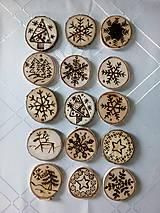 Dekorácie - Ozdoby na stromček - 7368385_