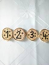 Dekorácie - Adventné čísla - 7368536_