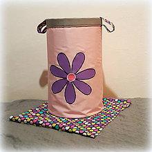 Detské doplnky - úložný box na hračky, kolekcia Violet 45X30 - 7371755_