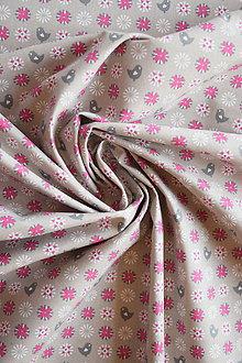 Textil - Bavlněné plátno extra jemné – kapučíno - 7370600  cdd4e006af5