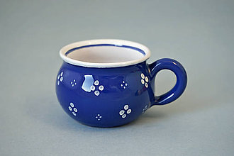 Nádoby - Buclák 5 espresso 4puntík - modrý - 7371686_