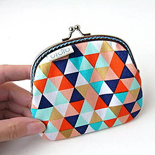 Peňaženky - Peňaženka Najveselšie trojuholníky - 7368437_