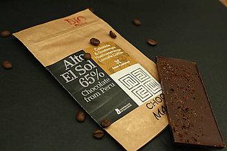 Potraviny - BIO Horká čokoláda 65% s čerstvo praženou kávou z Guatemaly - 7369527_