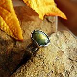 Prstene - Prsteň-Lucil-Labradorit - 7367461_