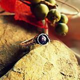 Prstene - Prsteň - Lenka - hviezny rubín - 7368883_