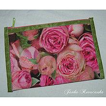 Taštičky - ruže - 7371397_
