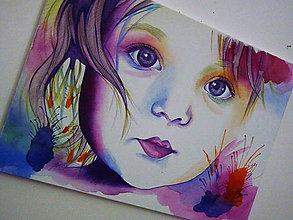 Obrazy - Stredný portrét - 7370227_