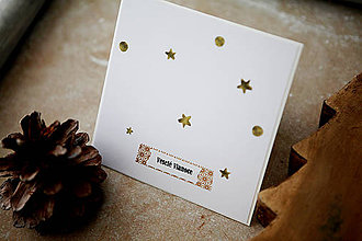 Papiernictvo - Veselé Vianoce - scrapbook pohľadnica - 7377165_