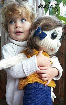 Hračky - Veľké oči mala, bábikou sa nazývala... - 7373009_