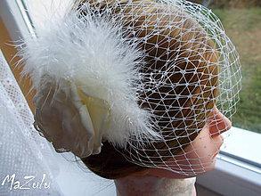 Ozdoby do vlasov - svadobná spona pre nevestu - 7375447_