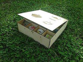 Krabičky - Krabica na čaj - 7373158_