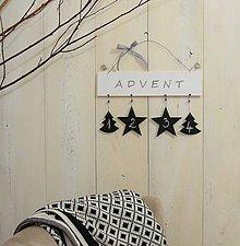 Tabuľky - Advent tabuľka II - 7375846_