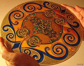 Dekorácie - Mandala Kľúč k ÚSPECHU - 7376469_