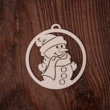 Dekorácie - Vianočná ozdoba - kruh 9 - 7377164_