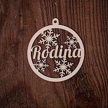 Dekorácie - Vianočná ozdoba - kruh 12 - 7377173_