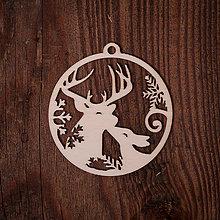 Dekorácie - Vianočná ozdoba - kruh 13 - 7377176_