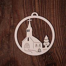 Dekorácie - Vianočná ozdoba - kruh 18 - 7377245_