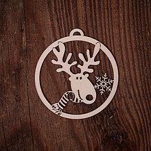Dekorácie - Vianočná ozdoba - kruh 19 - 7377247_