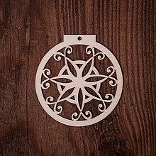 Dekorácie - Vianočná ozdoba - kruh 20 - 7377250_