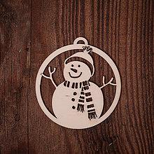 Dekorácie - Vianočná ozdoba - kruh 21 - 7377252_