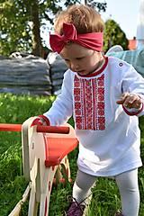 """Detské oblečenie - Detské folkórne tričko """"Na tej Detve"""" (FOLK) - 7377550_"""