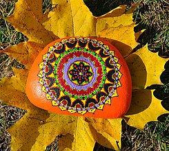 Dekorácie - Oranžová slnečnica - 7373344_