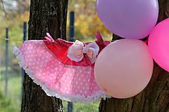 Detské oblečenie - Suknička z hviezdami - 7376012_