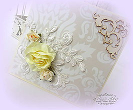 Papiernictvo - Nežné ruže... - 7374321_