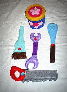 Hračky - Náradie z filcu pre malých kutilov - II. - 7377013_