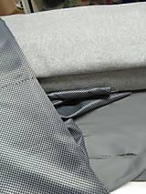Kabáty - Vlnený kabát - šedý - 7377597_