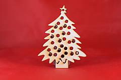 Drevené vianočná ozdoba stromček  53