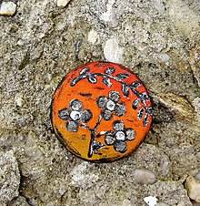Odznaky/Brošne - Brošňa z kože - 7374766_