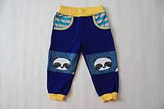 Detské oblečenie - Tepláky s pandami - veľkosť 86/92 - 7382764_