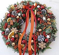 Dekorácie - vánoce s perníčky - 7379021_