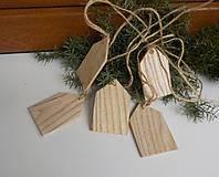 - Vianočná ozdoba-jaseňové domčeky - 7380301_