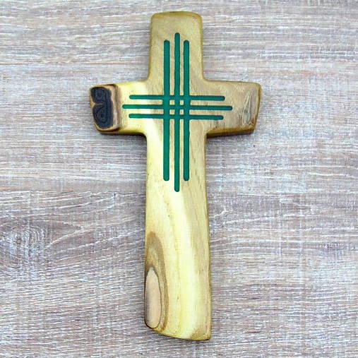 Drevený krížik - svietiaci II.