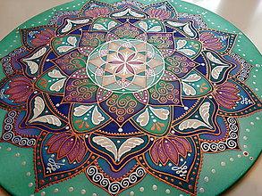 Dekorácie - Mandala sebalásky a milostivej ochrany - 7379063_
