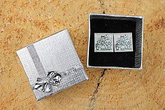 Šperky - Manžetové gombíky pre otecka rodinky - 7379754_