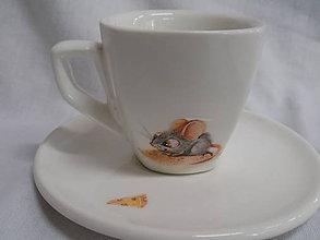 Nádoby - Maličká šálka na ristretto - Mouse - 7380918_