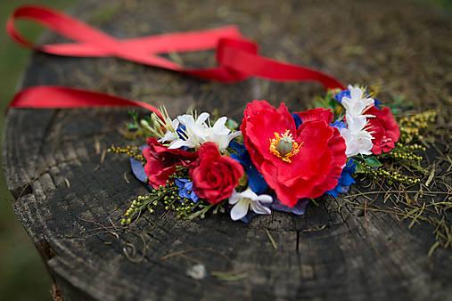 """Kvetinový náhrdelník """"slovanská epopej"""""""