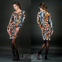Šaty - Hodvábne šaty LUPTAKOVA - 7379920_