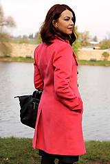 Kabáty - Vlnený kabát - červený - 7377624_