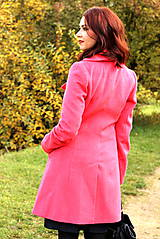 Kabáty - Vlnený kabát - červený - 7377625_