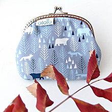 Peňaženky - Peňaženka Severský les - 7379310_