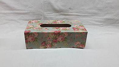 Krabičky - zásobník na papierové vreckovky - 7378083_