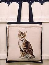 Nákupné tašky - Nákupná taška-mačka - 7386659_