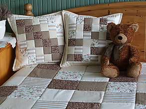 Úžitkový textil - prehoz  rozmer  160x200 cm - 7382994_